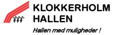 Klokkerholm Hallen Logo